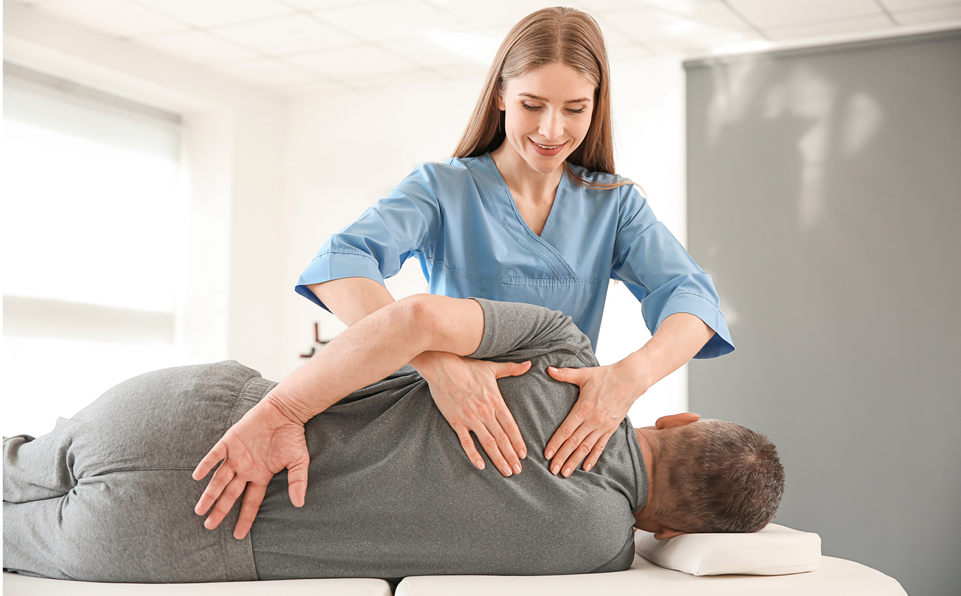 alleviating back pain thru manual therapy